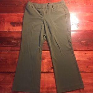 Zac & Rachel Olive Green Trousers